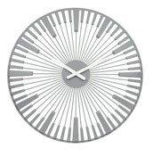 Zegar ścienny Piano szary - małe zdjęcie