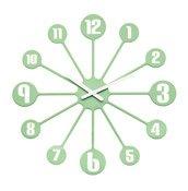 Zegar ścienny Pinball miętowy