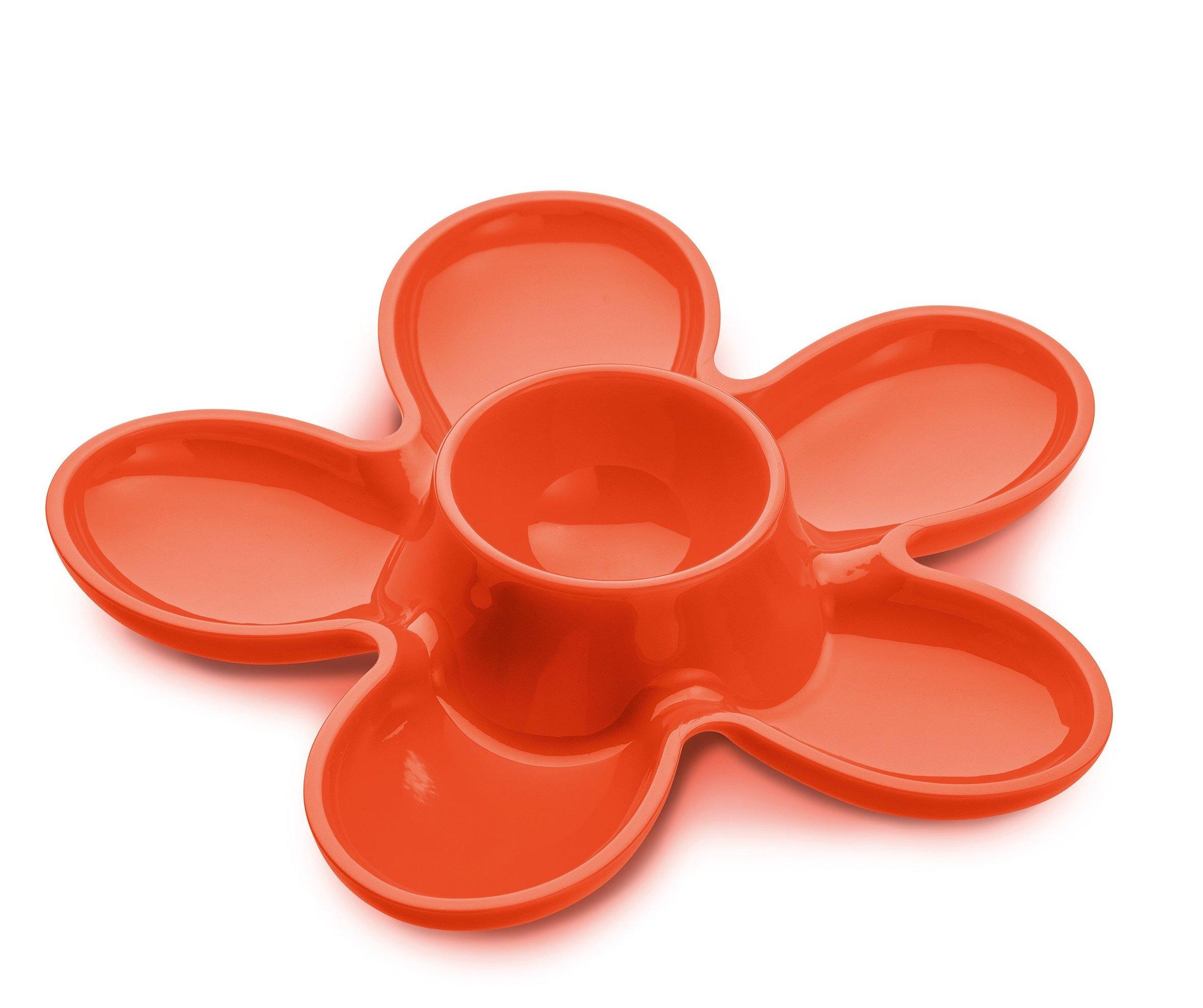 Kieliszek do jajek A-pril 1 szt. pomarańczowoczerwony