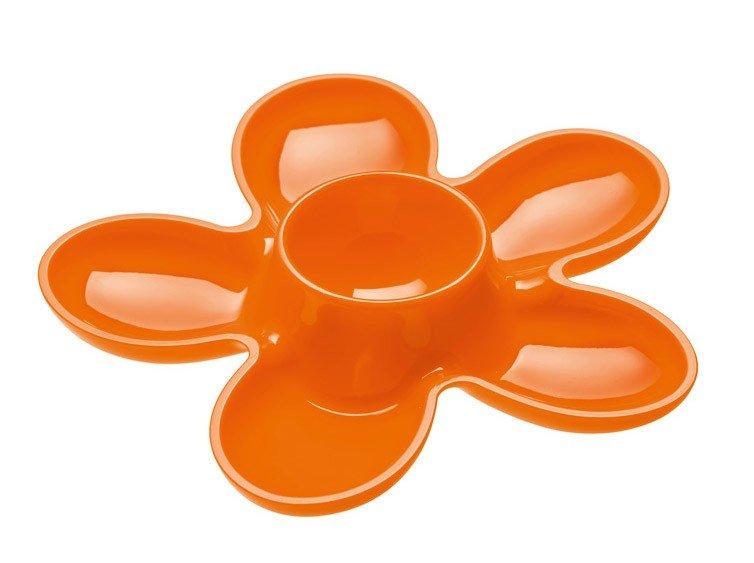 Kieliszek do jajek A-pril 2 szt. pomarańczowy