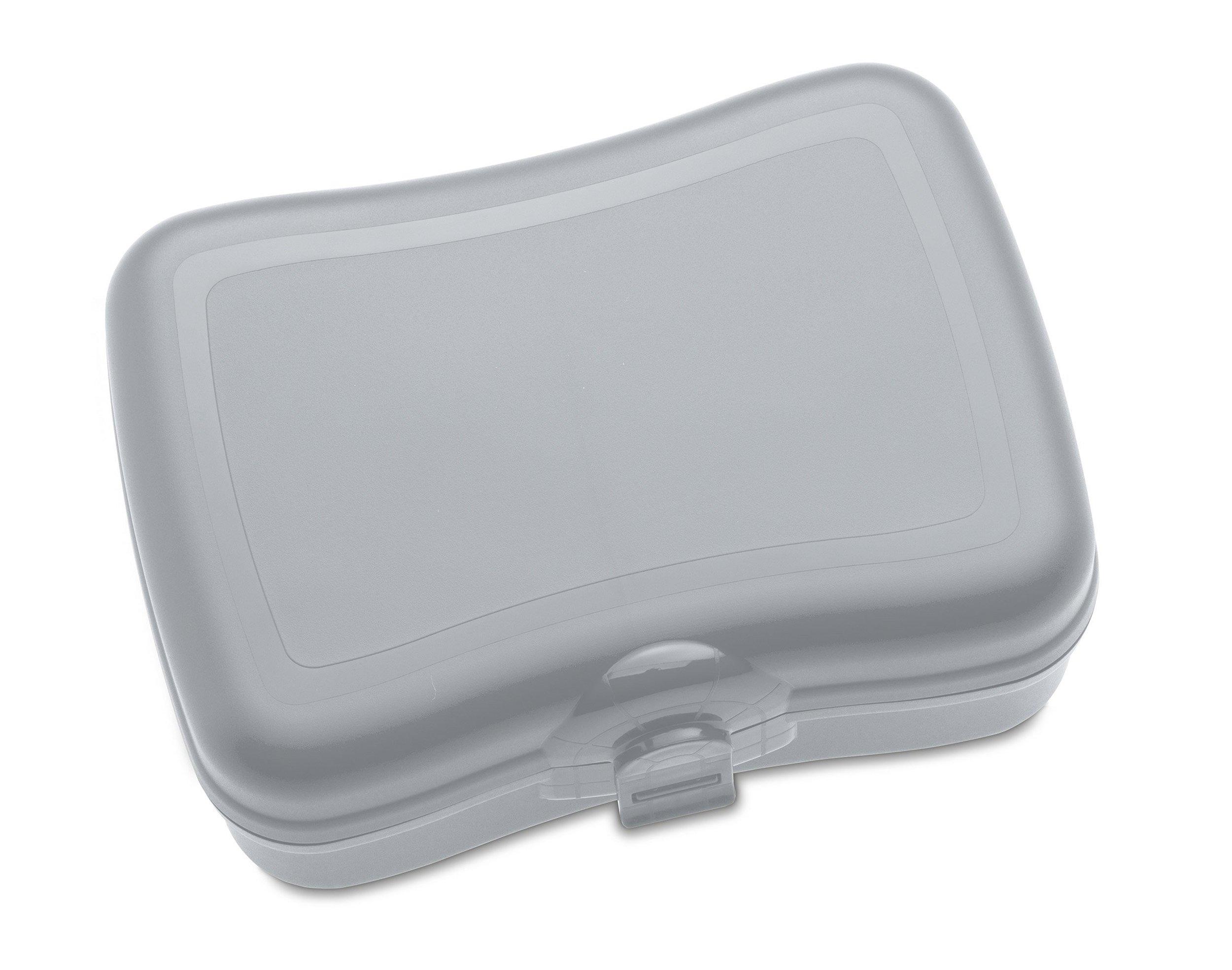 Pudełko na lunch Basic szare