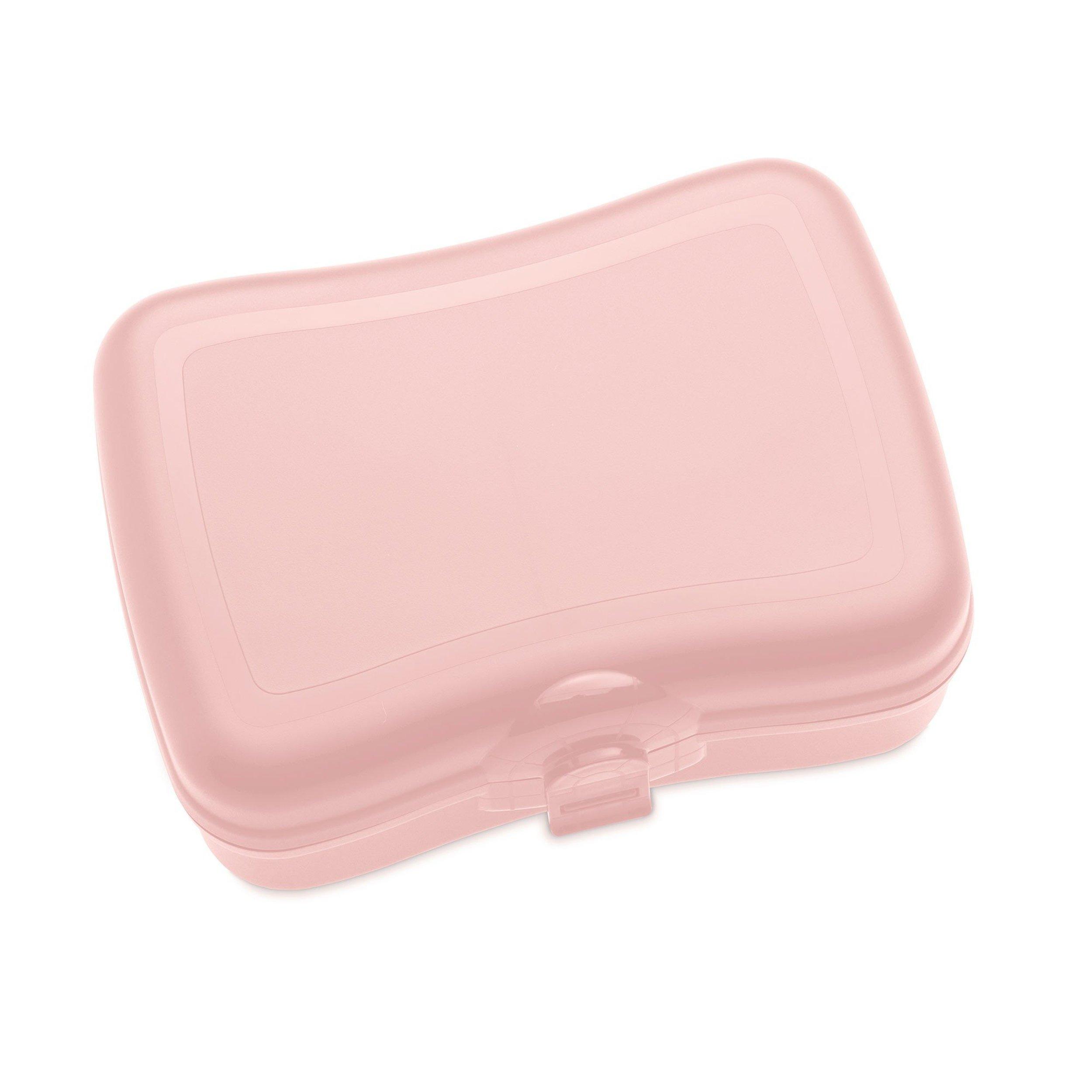 Pudełko na lunch Basic pastelowy róż