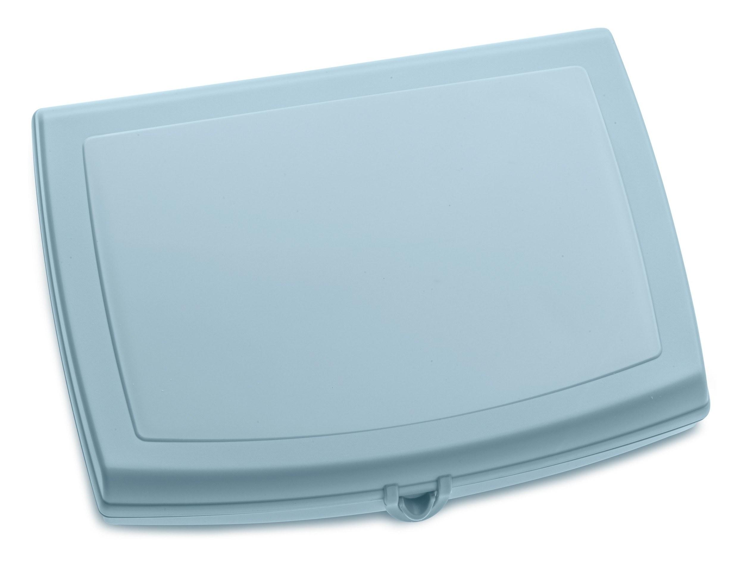 Lunchbox Panorama pastelowy błękit