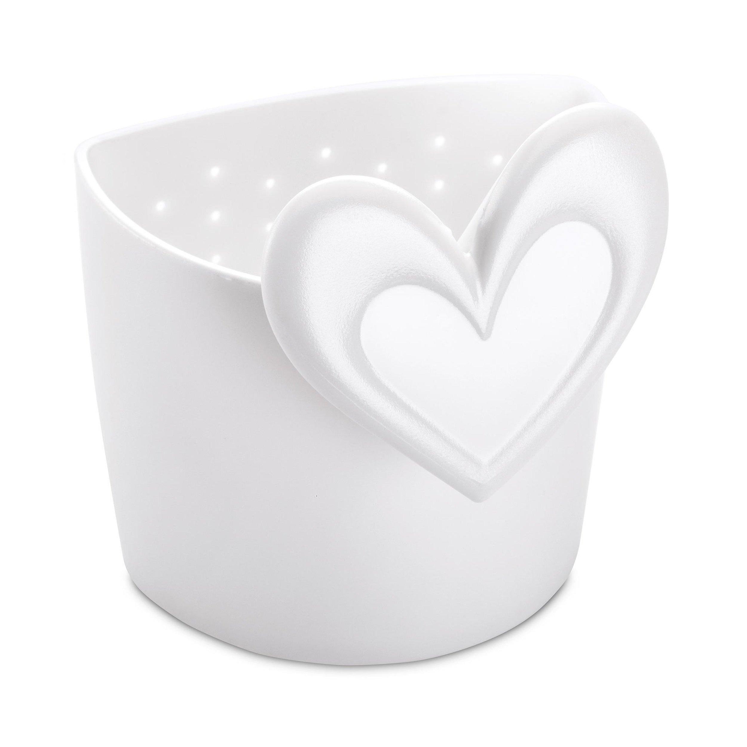Zaparzaczka do herbaty Susi biała