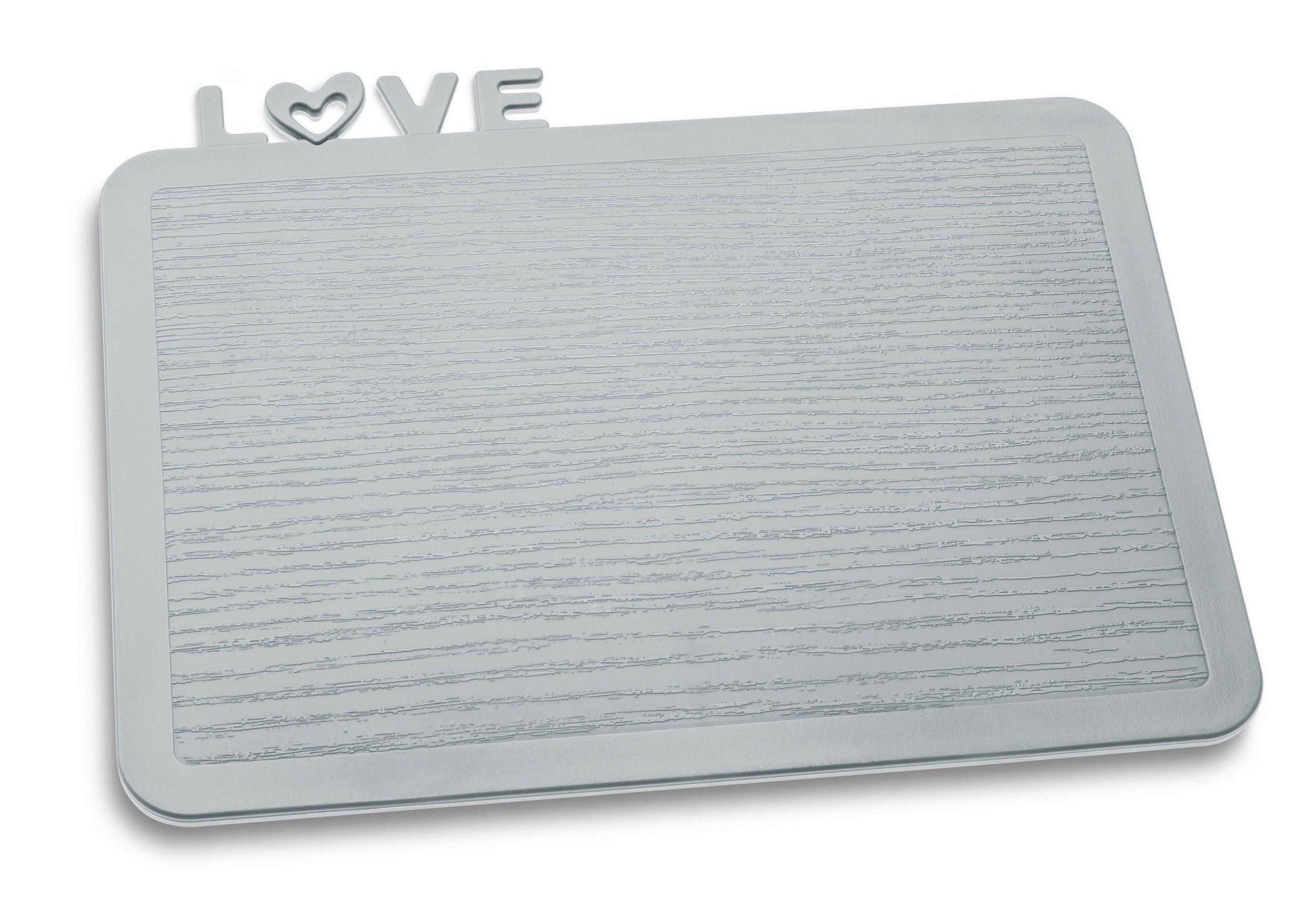 Deska śniadaniowa Happy Boards Love szara