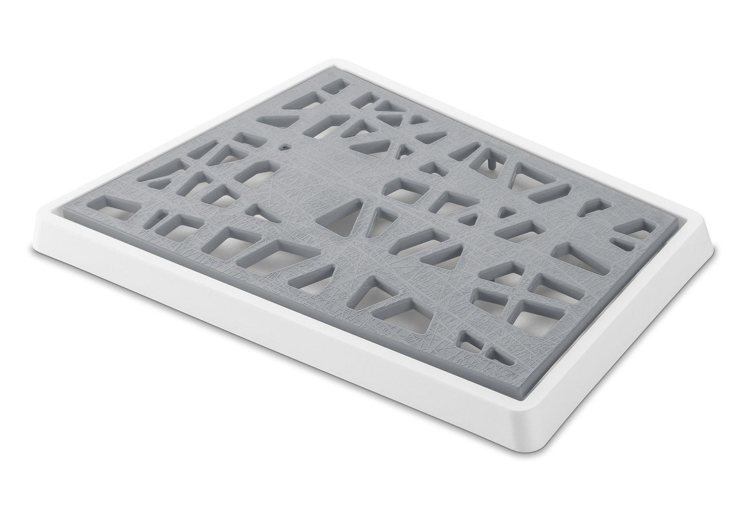 Deska do krojenia pieczywa Matrix szara