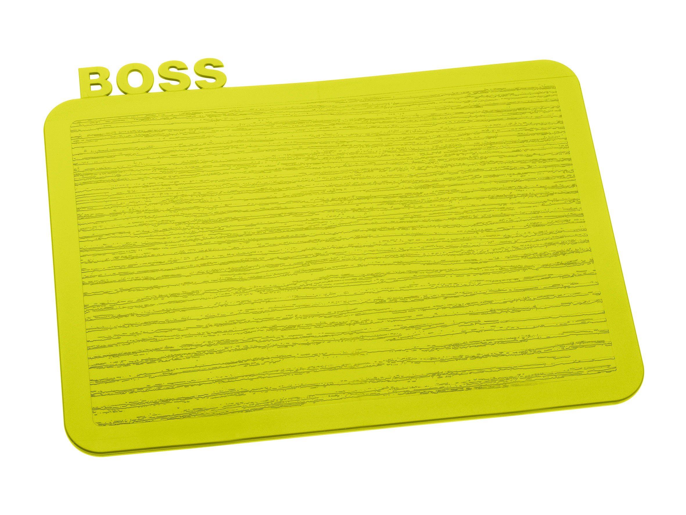 Deska śniadaniowa Happy Boards Boss musztardowa