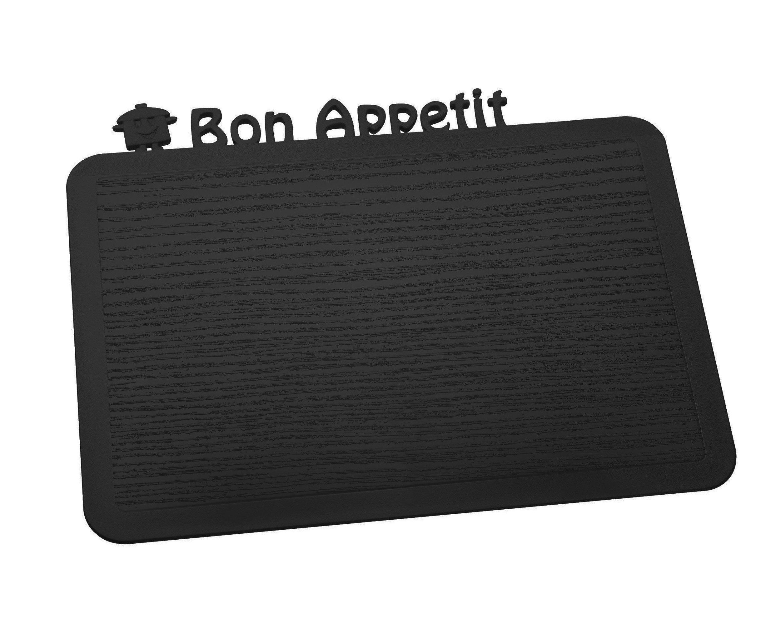 Deska śniadaniowa Happy Boards Bon Appetit czarna