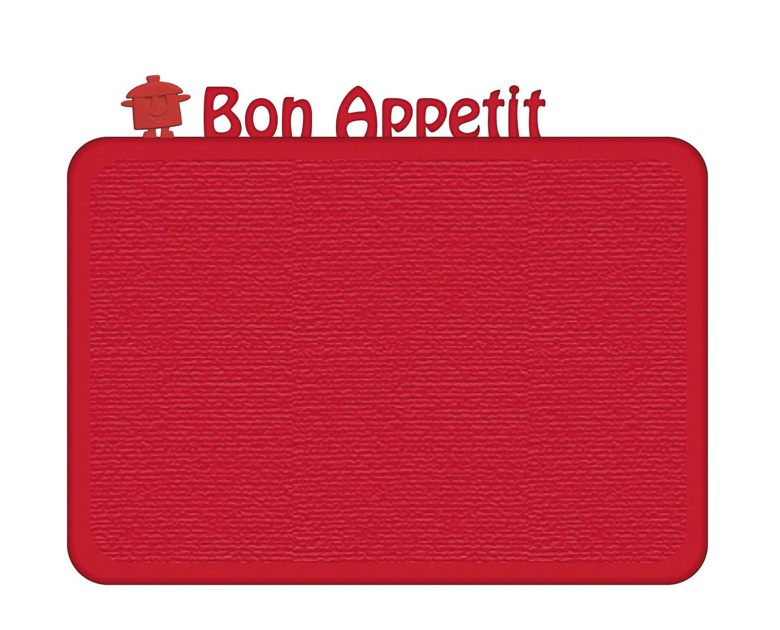 Deska śniadaniowa Happy Boards Bon Appetit malinowa