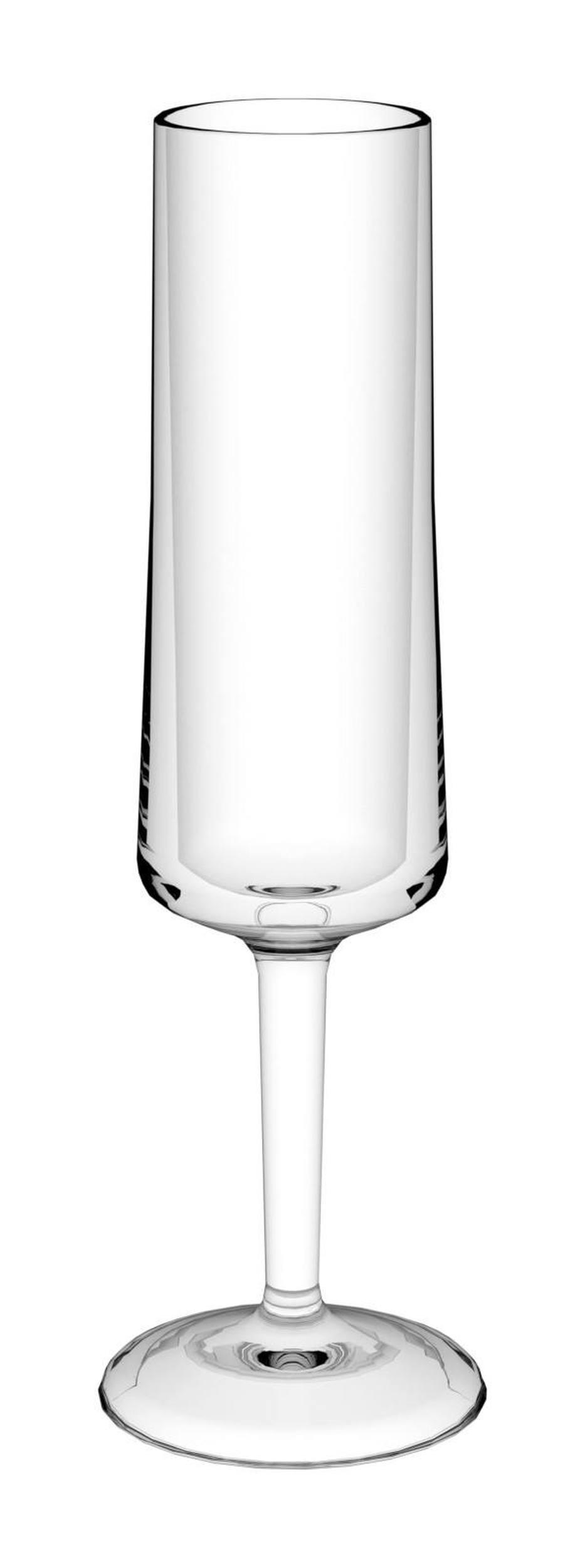 Kieliszek do szampana Cheers Koziol przezroczysty