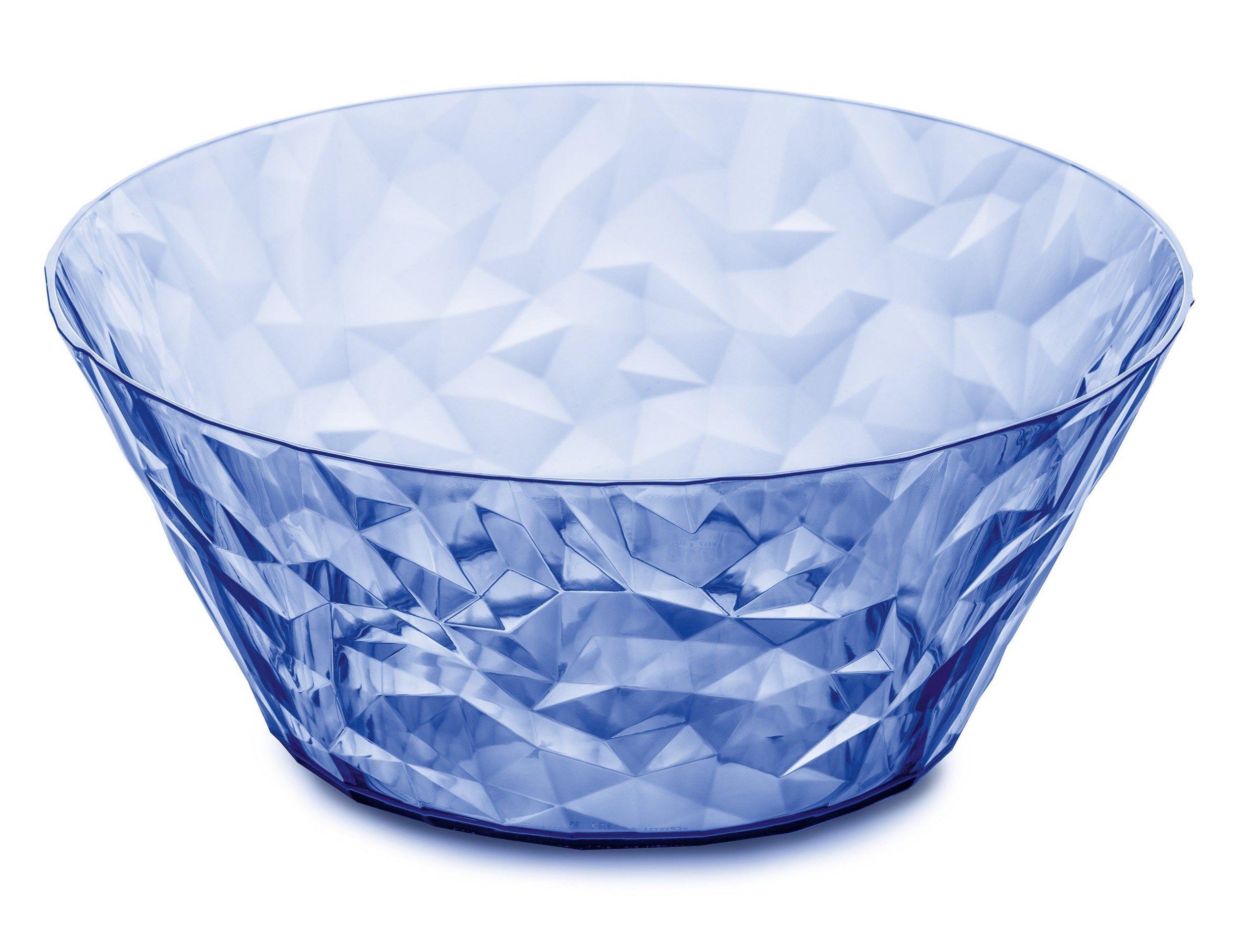 Misa sałatkowa Crystal 2.0 jasnoniebieska