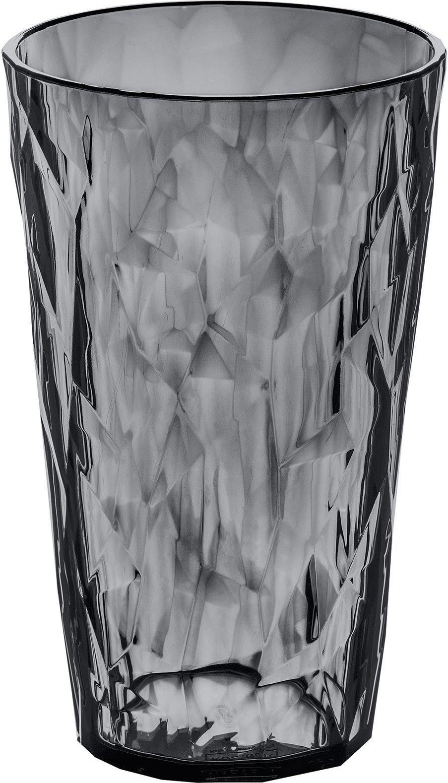 Szklanka Crystal 2.0 L antracytowa przezroczysta