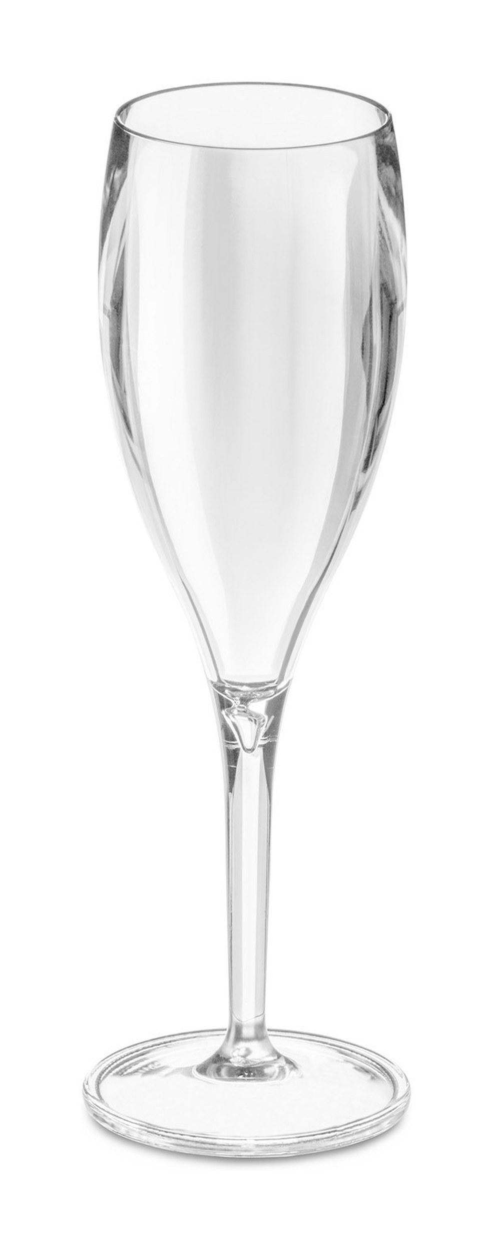 Kieliszki do szampana Cheers 4 szt. przezroczyste