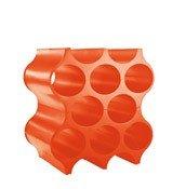 Stojak na butelki Set Up pomarańczowoczerwony - małe zdjęcie