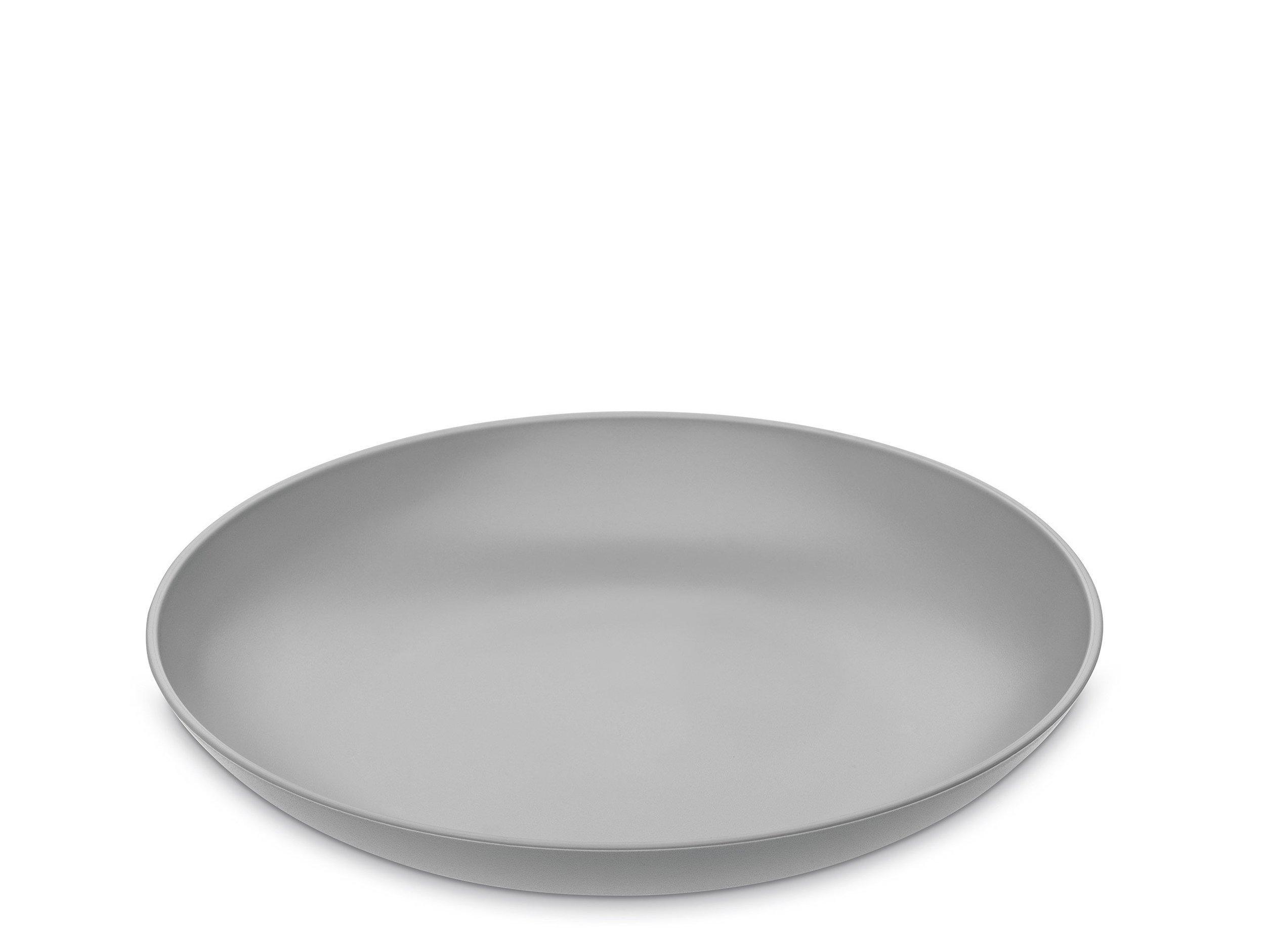 4 talerze głębokie Rondo szare