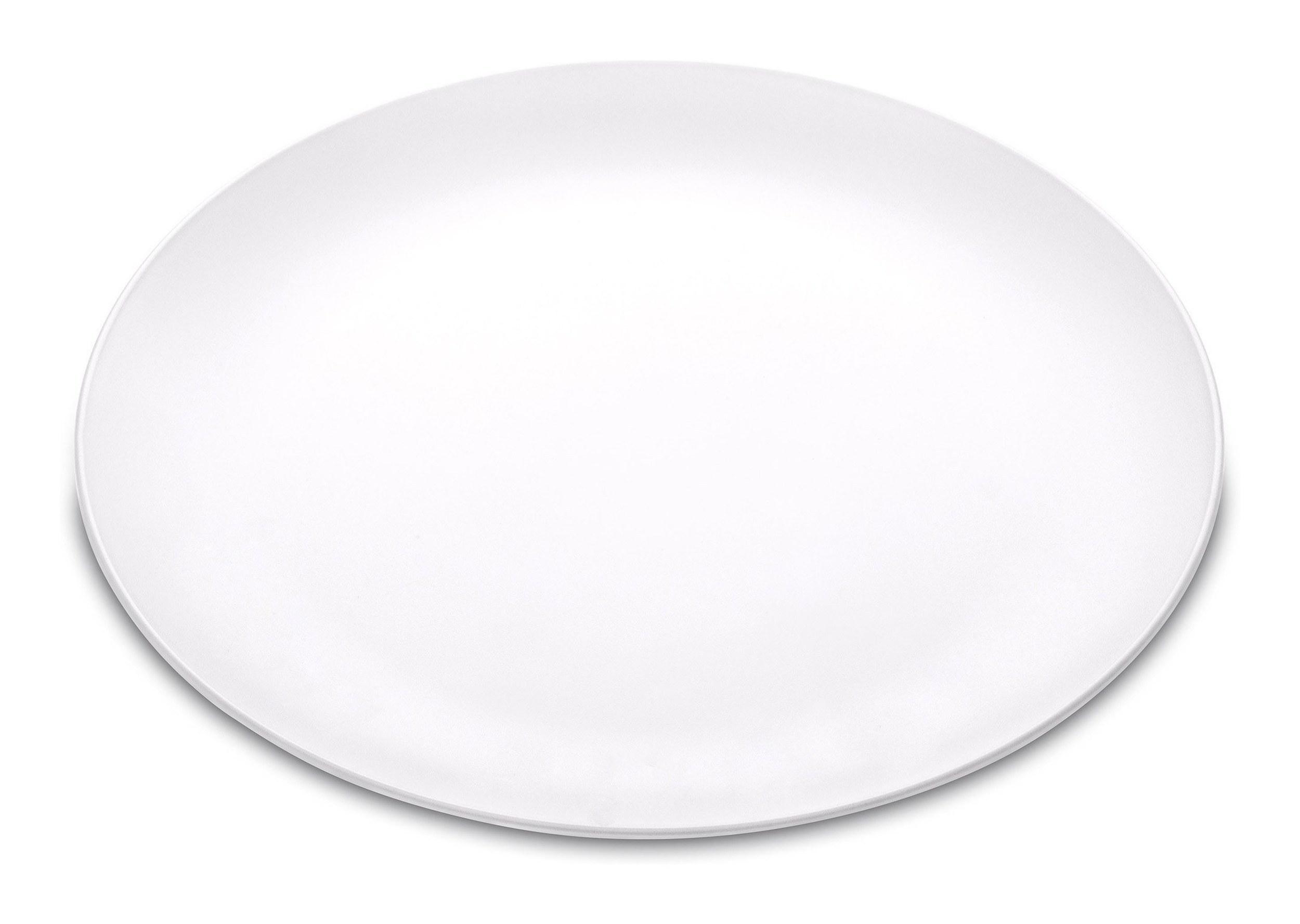 Talerz płaski Rondo biały
