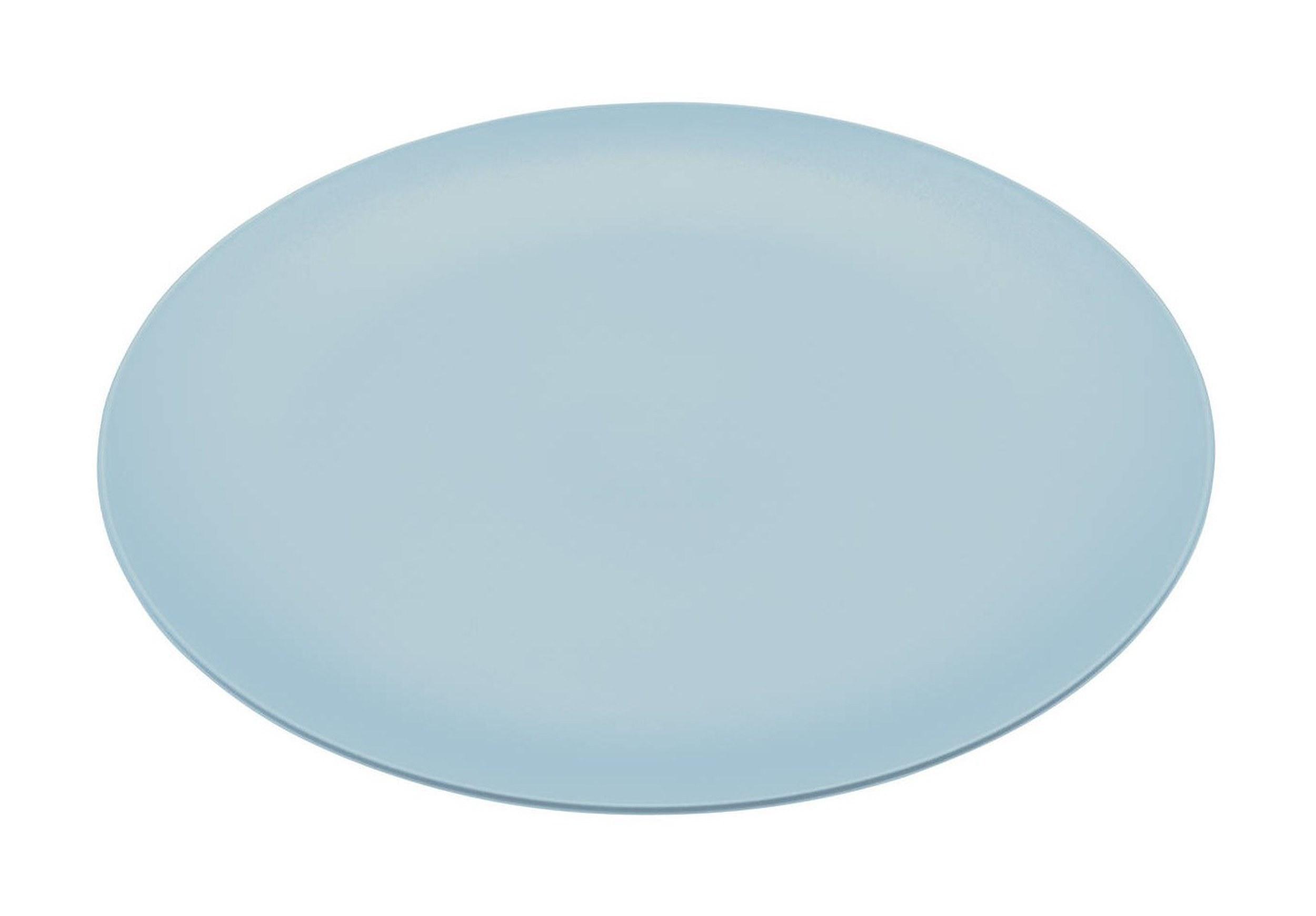 Talerz płaski Rondo pastelowy błękit