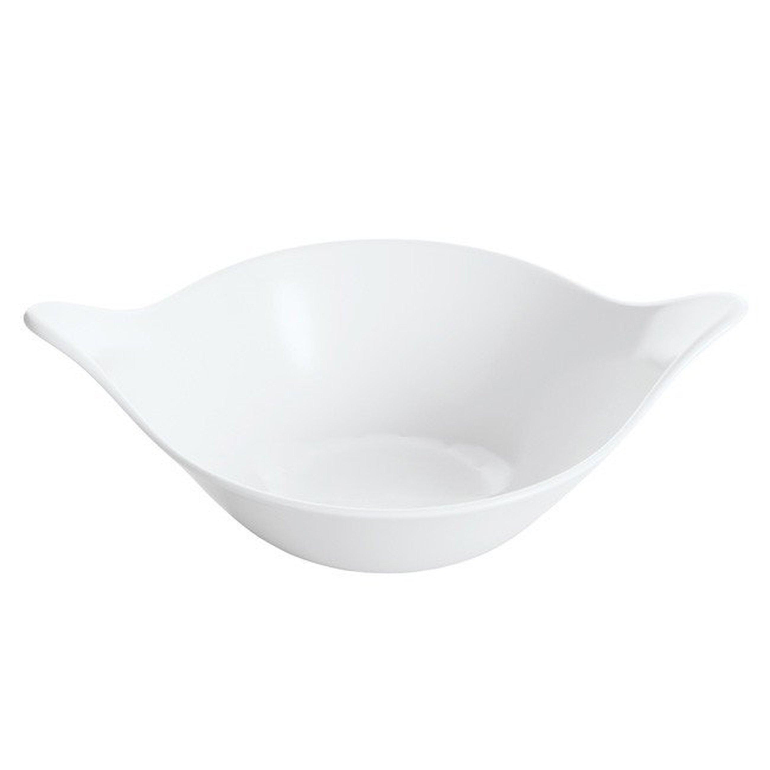 Miska Leaf M biała