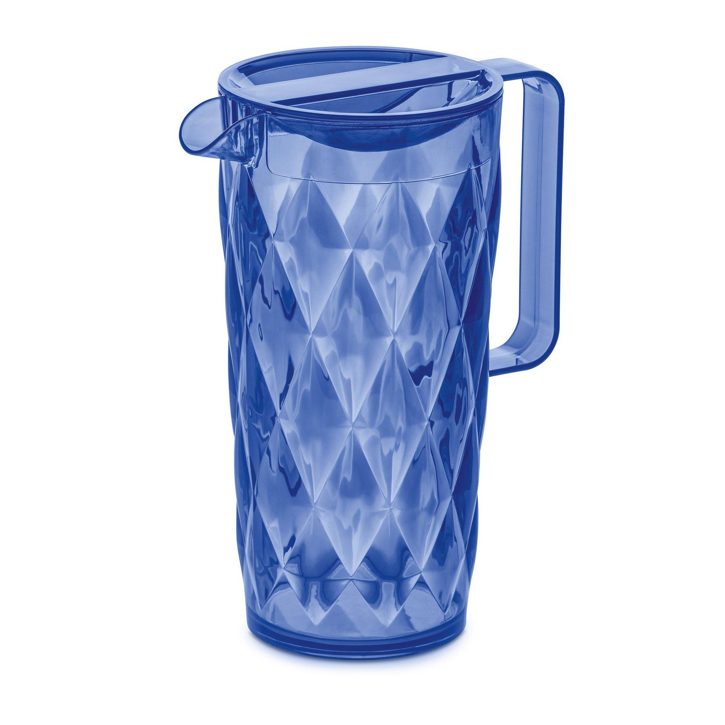 Dzbanek Crystal jasnoniebieski