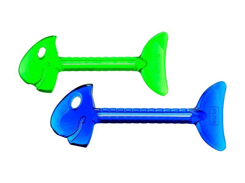 2 wyciskacze do tubek Rollmops zielony i niebieski