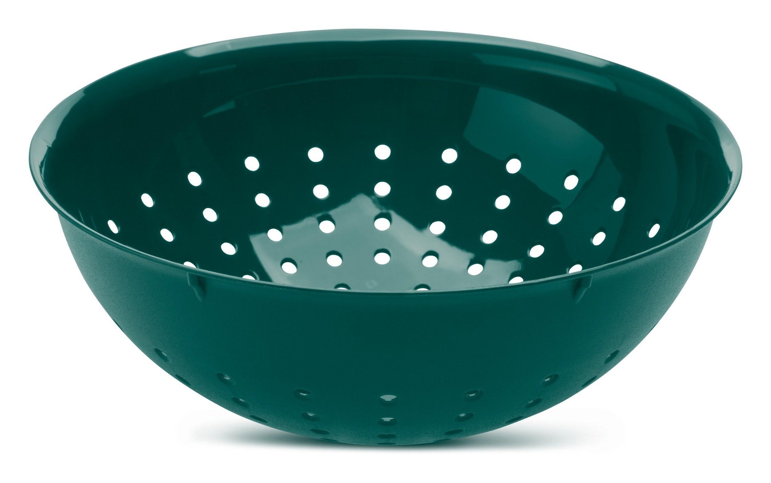 Durszlak 20 cm zieleń emerald