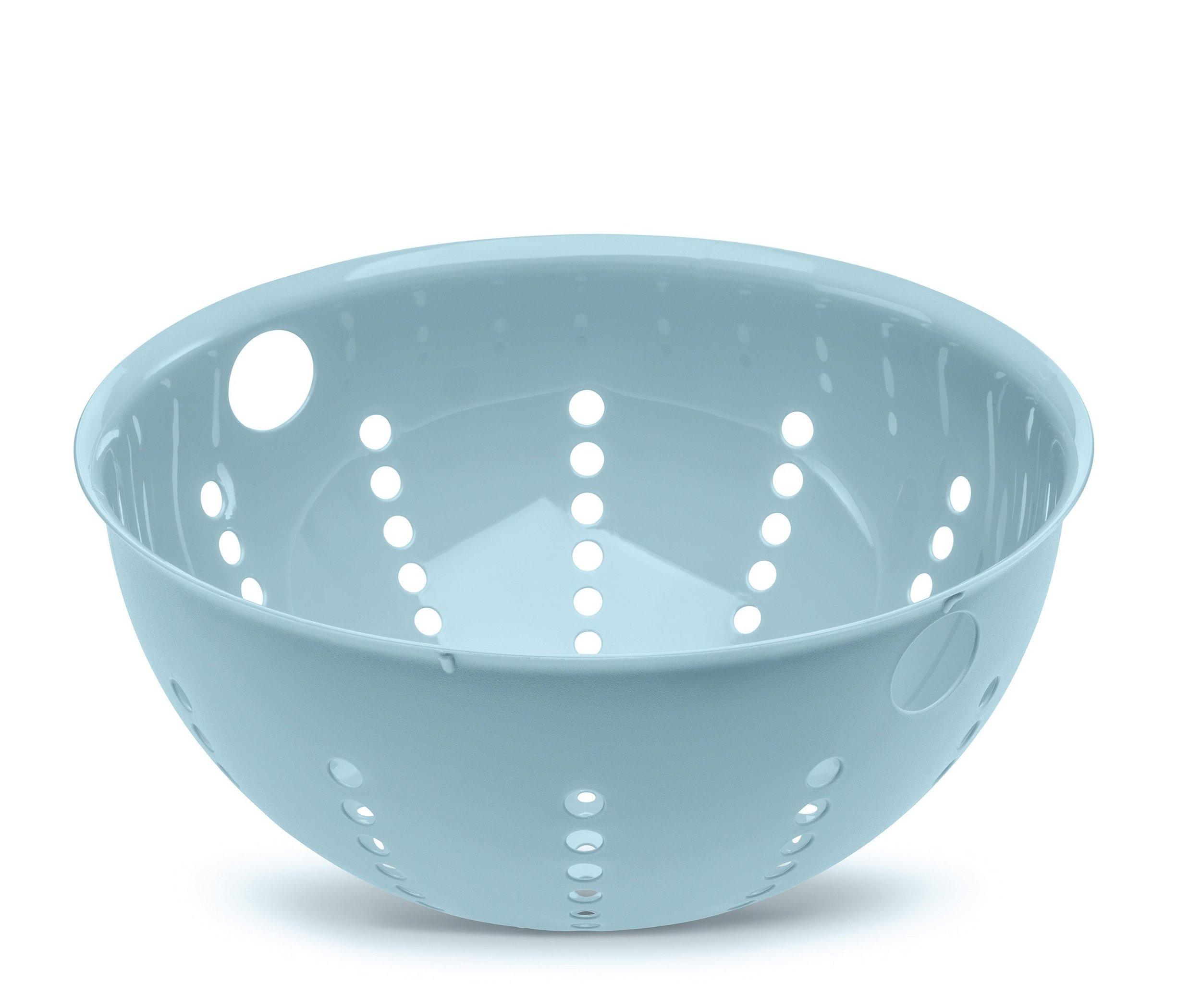 Durszlak 28 cm pastelowy niebieski