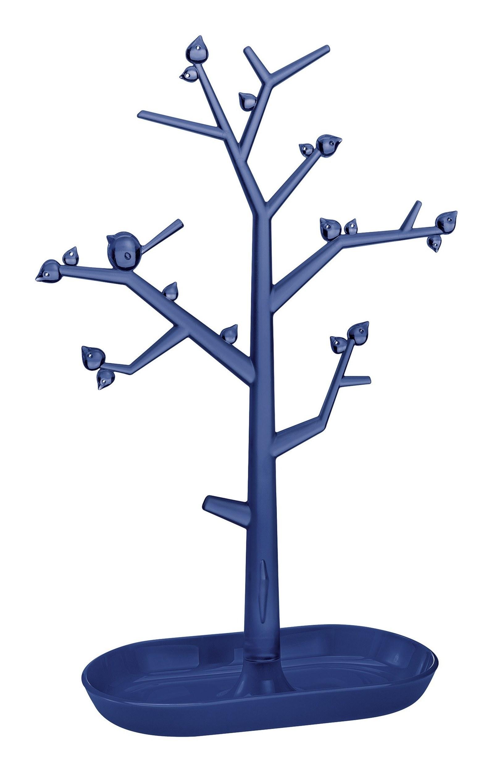 Stojak na biżuterię Pi:P L welwetowy błękit