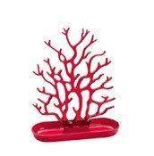 Stojak na biżuterię Cora czerwony - małe zdjęcie