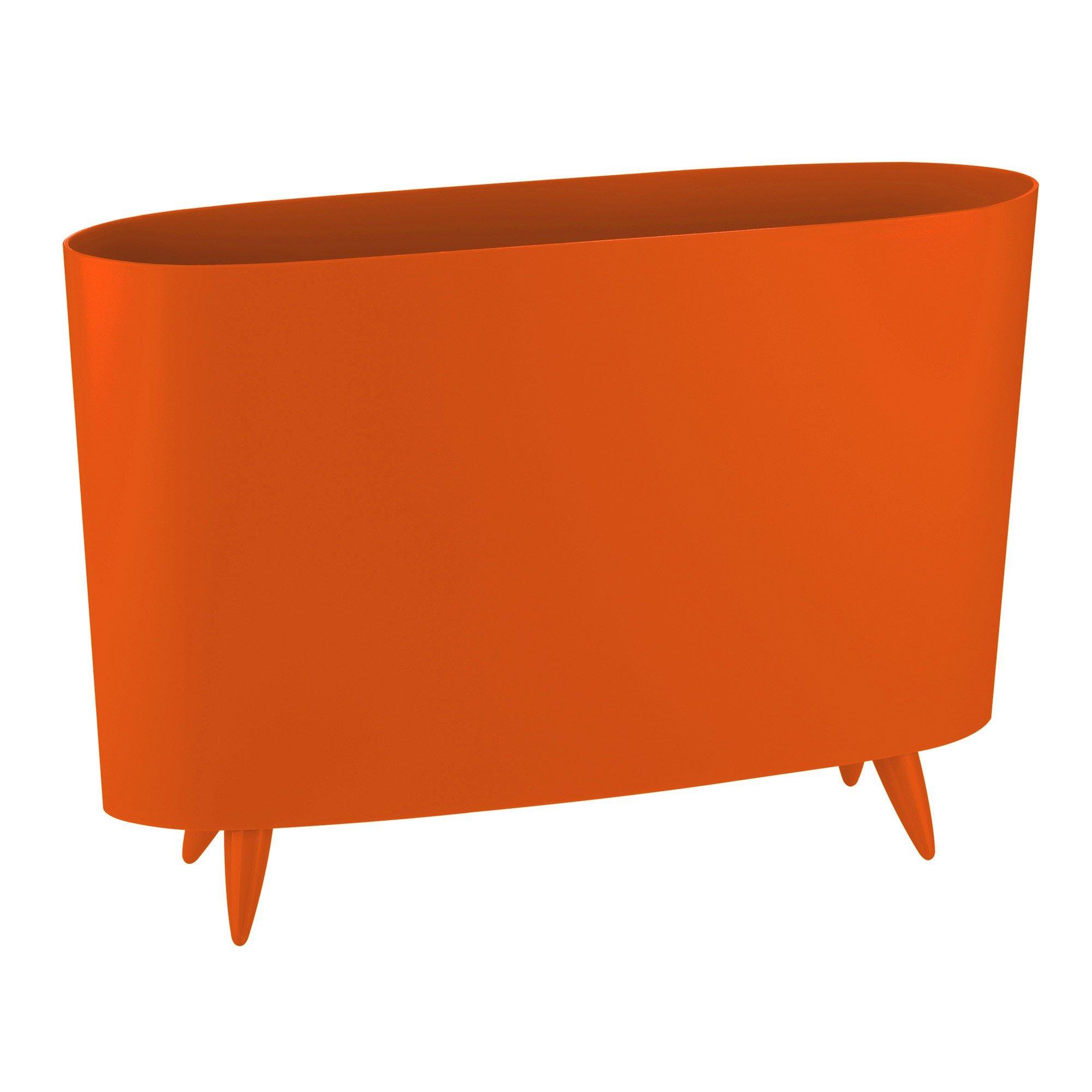 Stojak na gazety Milano pomarańczowoczerwony