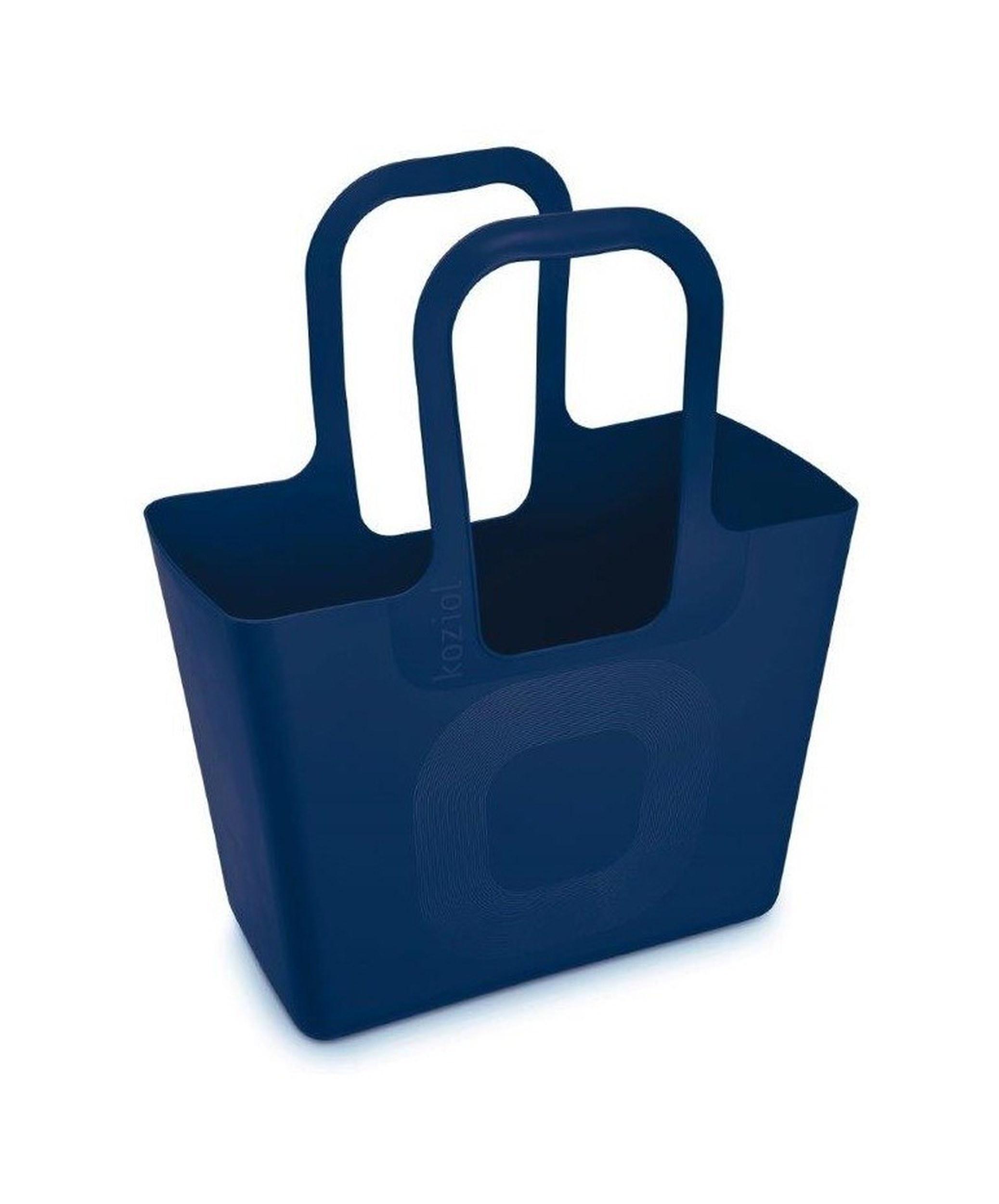 Torba Tasche XL welwetowy błękit