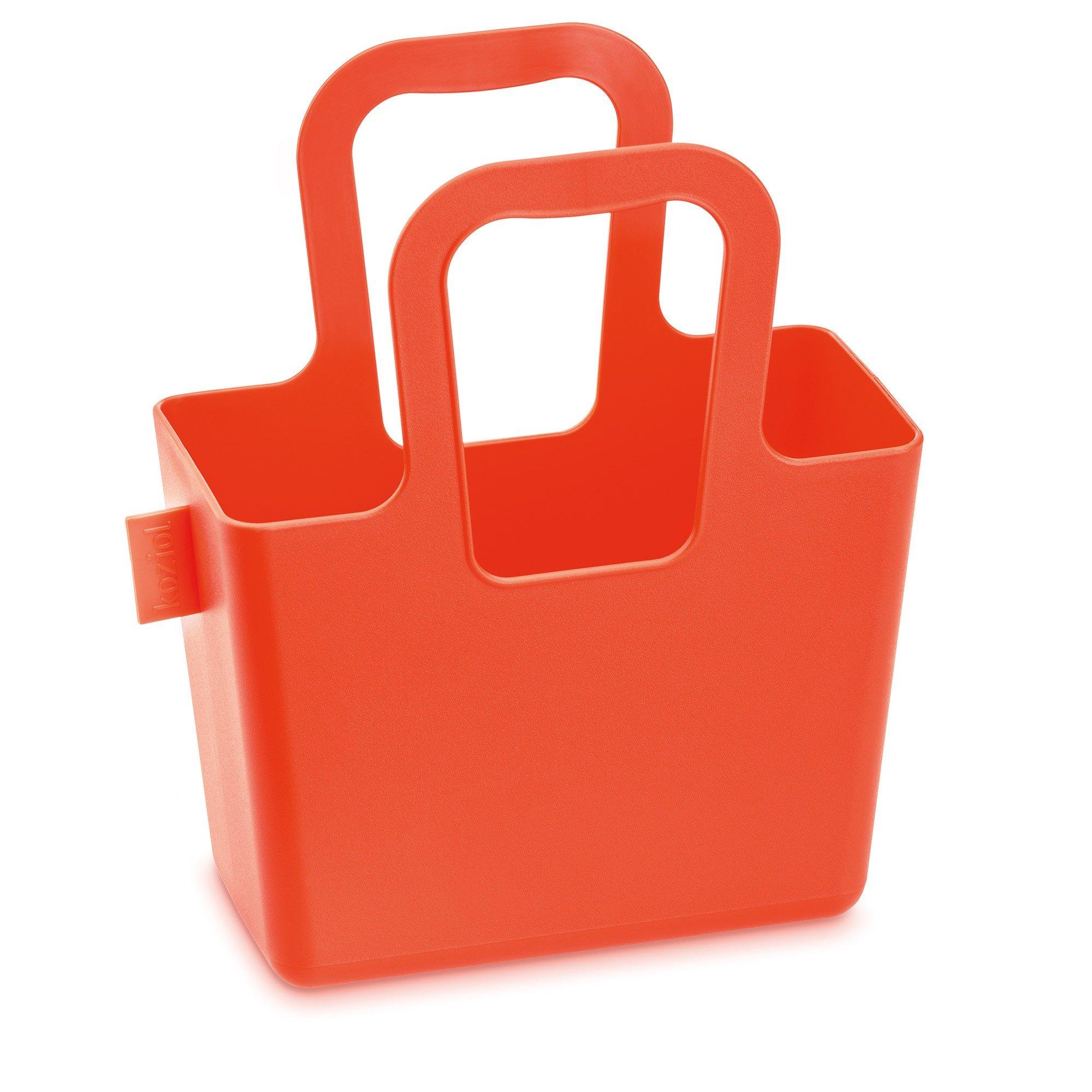 Torba Taschelini pomarańczowoczerwona