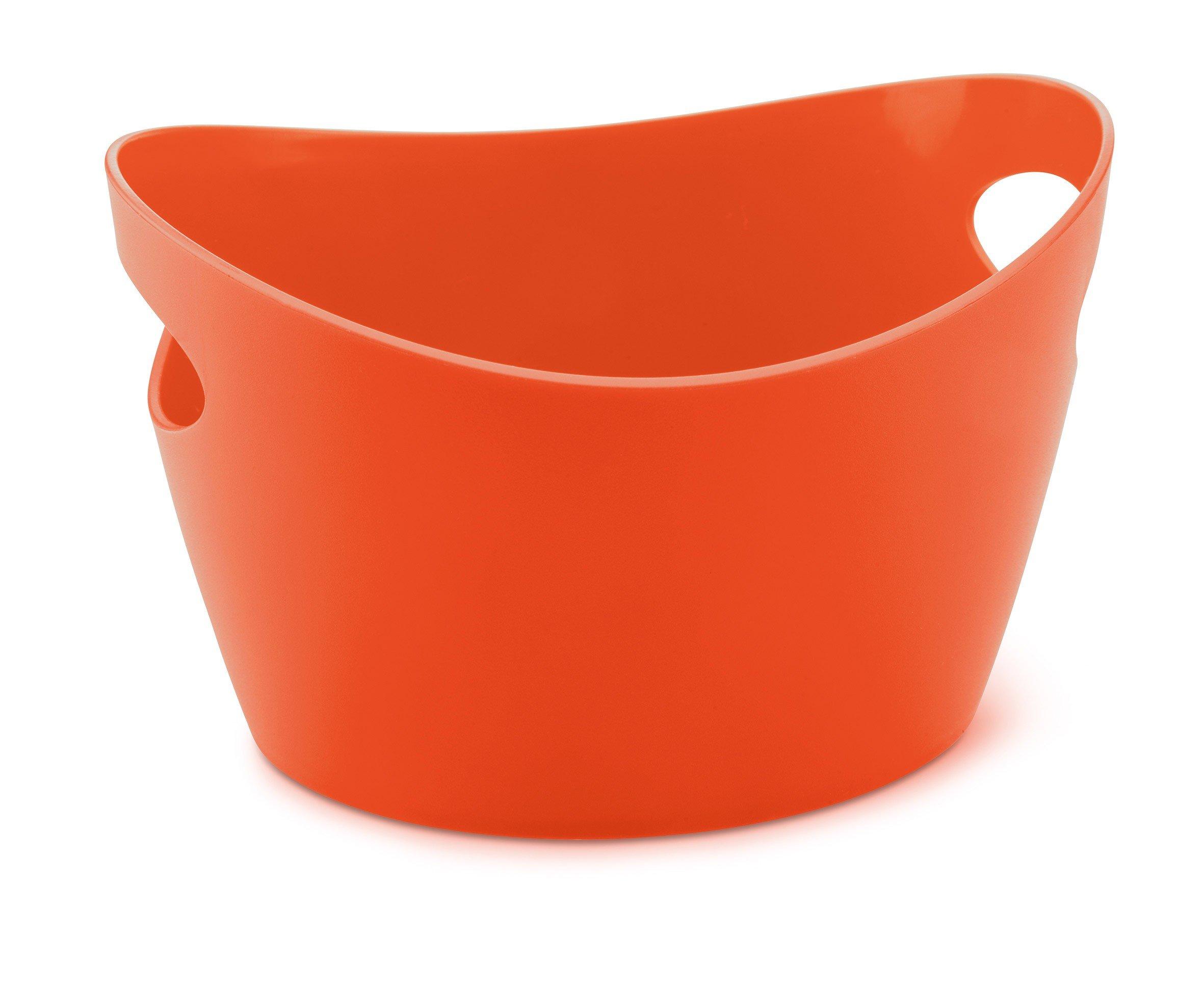 Miseczka Bottichelli XXS pomarańczowoczerwona