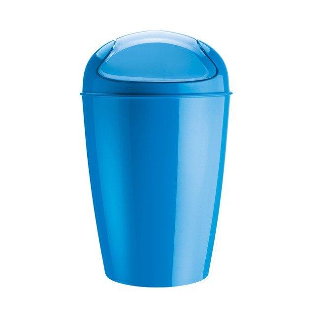 Kosz na śmieci Del XL intensywnie niebieski