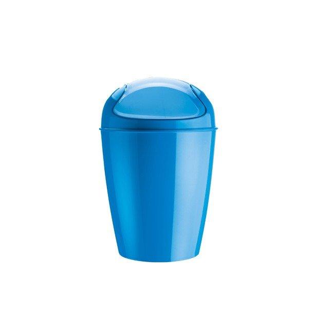 Kosz na śmieci Del S intensywnie niebieski