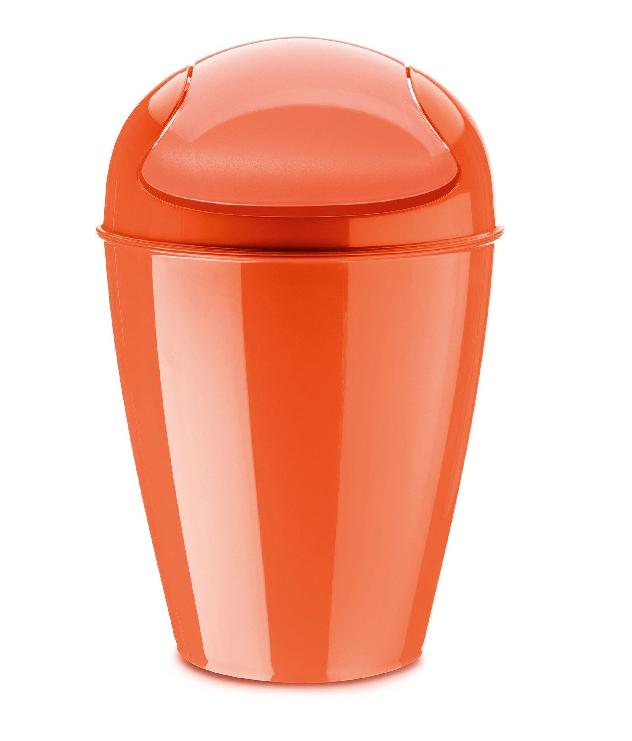 Kosz na śmieci Del S pomarańczowoczerwony