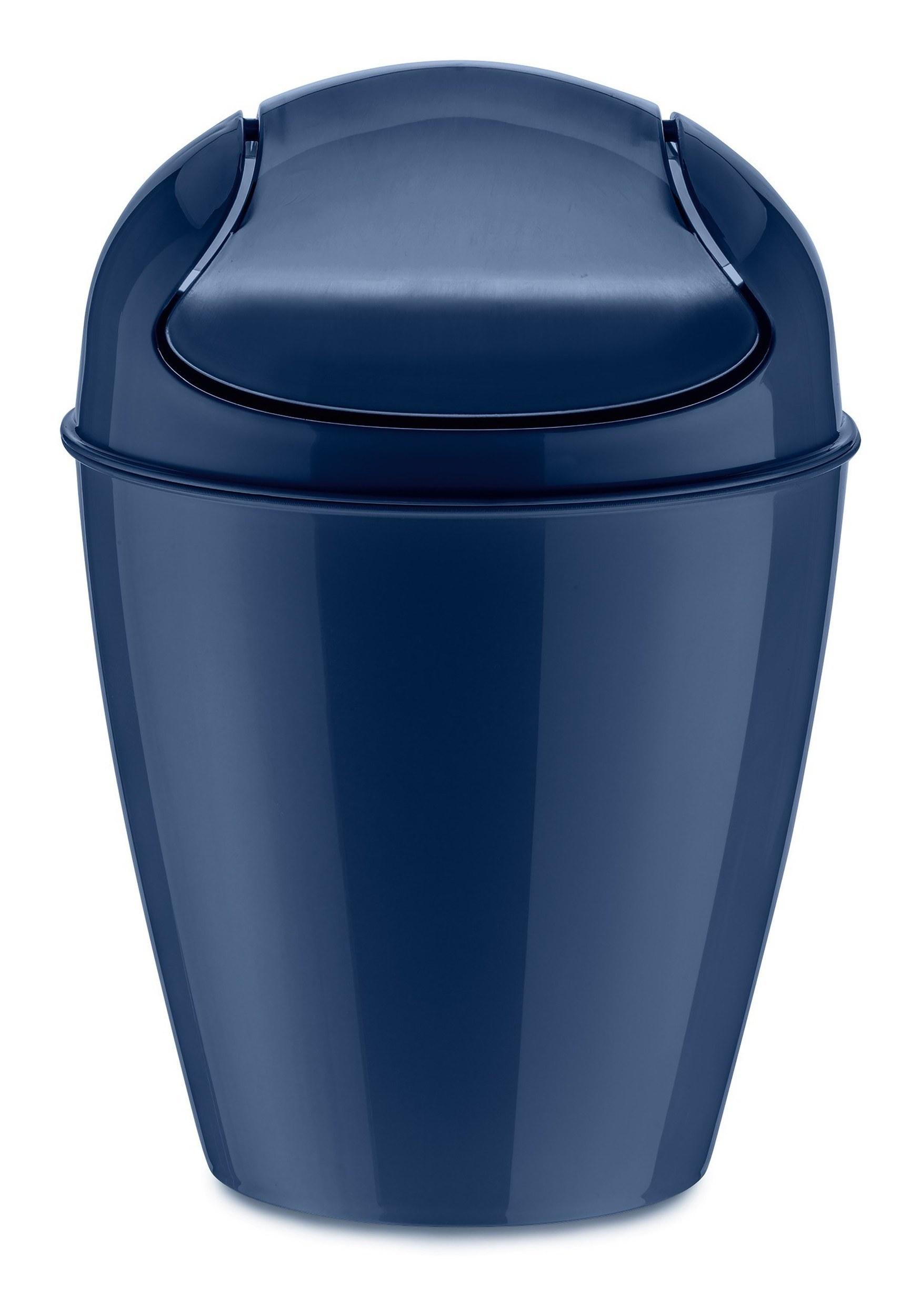 Kosz na śmieci Del XS welwetowy błękit