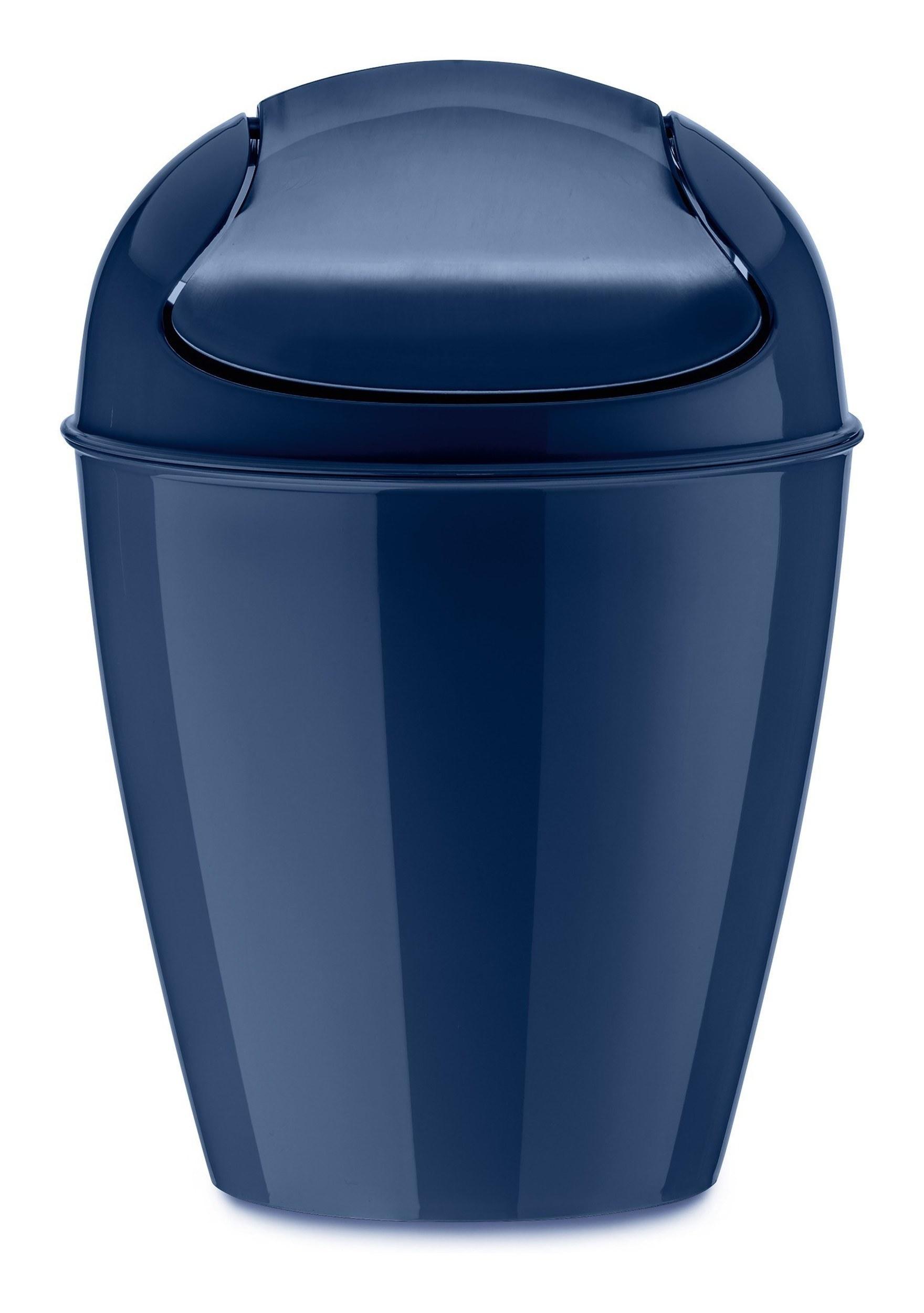 Kosz na śmieci Del XXS welwetowy błękit