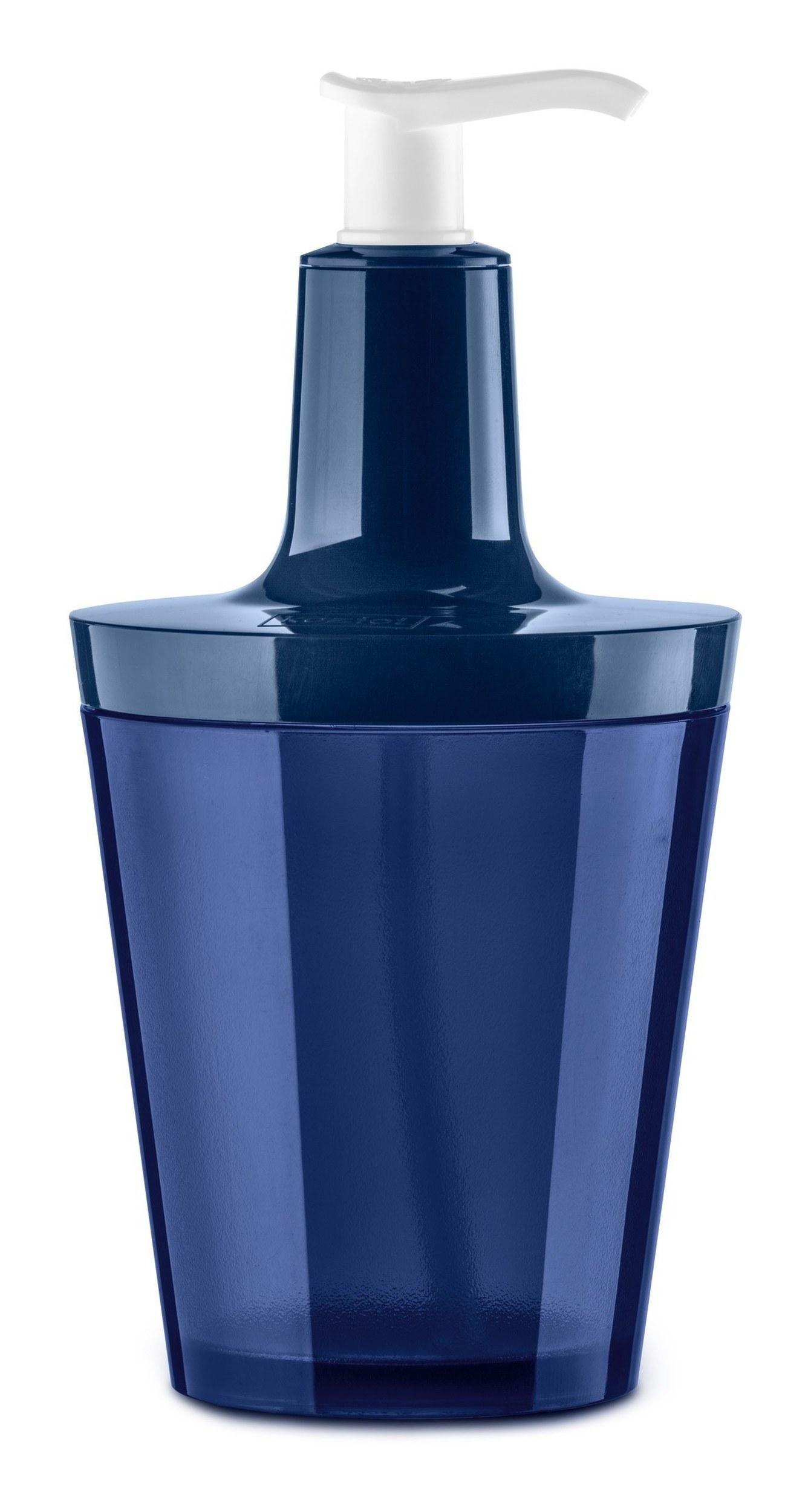 Dozownik do mydła Flow velvet blue
