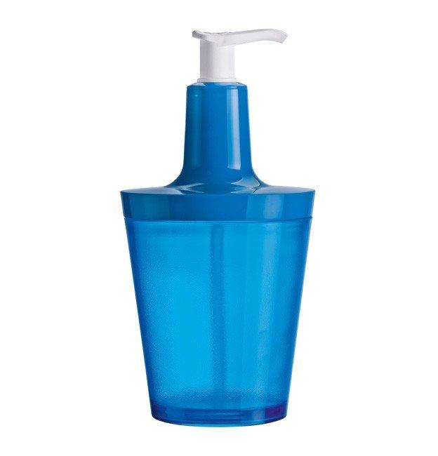 Dozownik do mydła Flow intensywnie niebieski