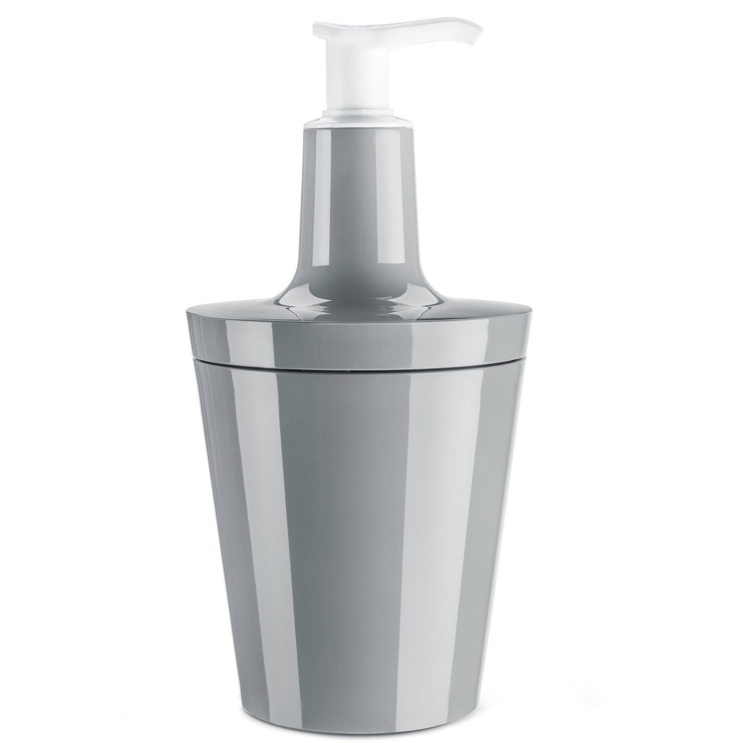 Dozownik do mydła Flow szary