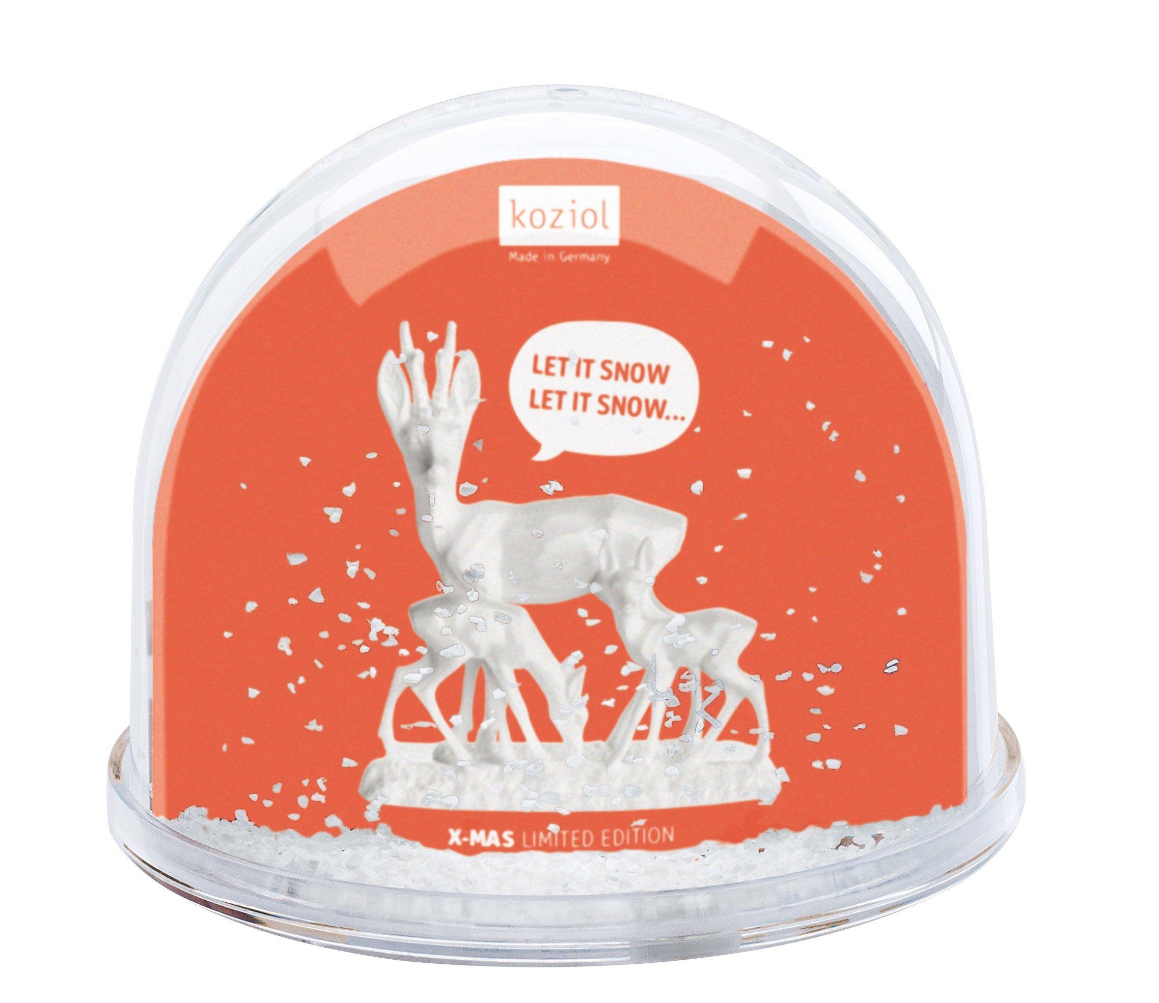 Dekoracja świąteczna ze zdjęciem Dream Globe Let it Snow Big