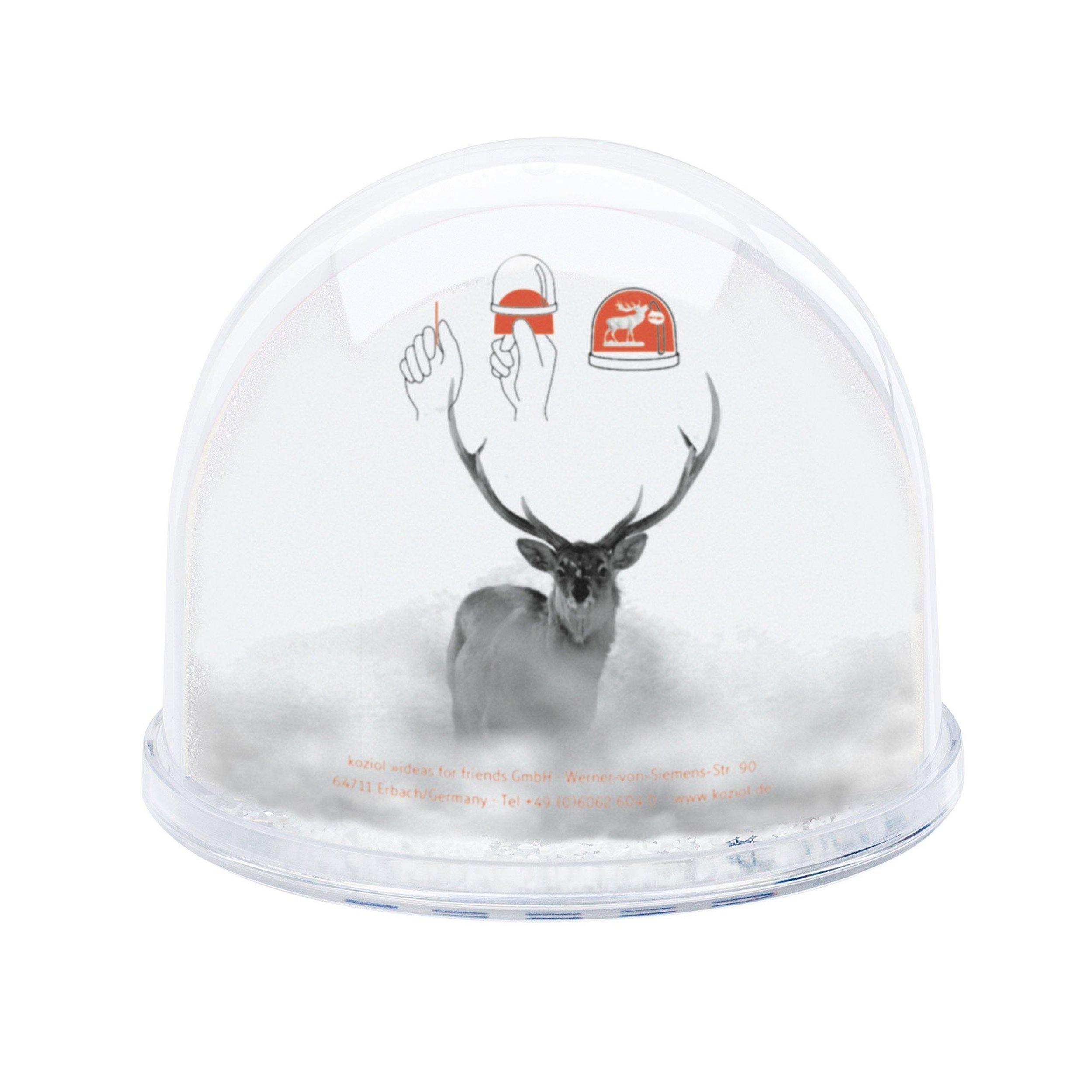Dekoracja świąteczna ze zdjęciem Dream Globe Oh Deer