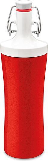 Butelka na wodę Organic Plopp To Go czerwona