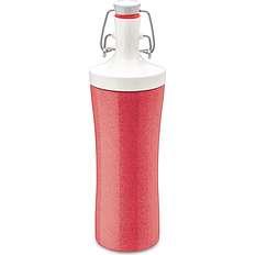 Butelka na wodę Organic Plopp To Go koralowa