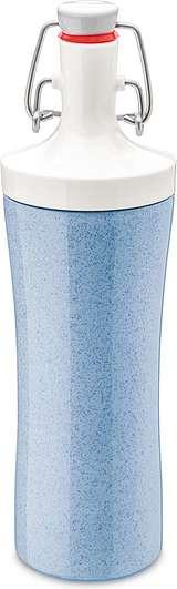 Butelka na wodę Organic Plopp To Go niebieska
