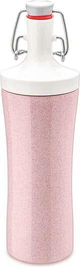 Butelka na wodę Organic Plopp To Go różowa