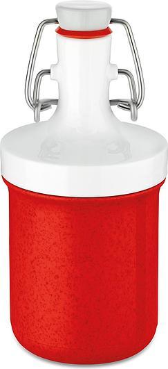 Butelka na wodę Plopp To Go Mini Organic 200 ml czerwona