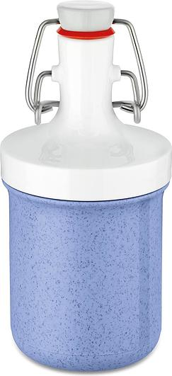 Butelka na wodę Plopp To Go Mini Organic 200 ml niebieska