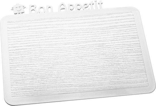 Deska śniadaniowa Happy Boards Bon Appetit biała