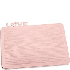 Deska śniadaniowa Happy Boards Love pastelowy róż
